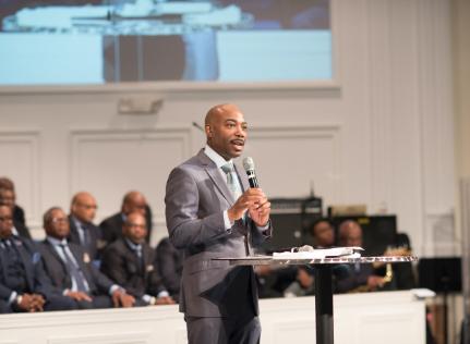 pastor or speaking